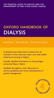 Cover for   Oxford Handbook of Dialysis