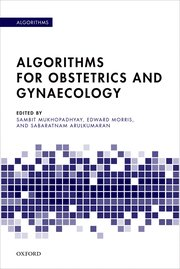 Cover for   Algorithms for Obstetrics and Gynaecology