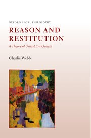 Cover for   Reason and Restitution