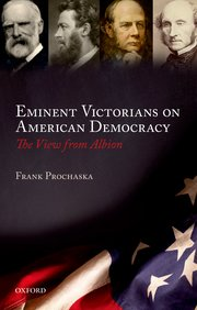 Cover for   Eminent Victorians on American Democracy