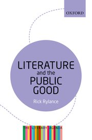 Cover for   Literature and the Public Good