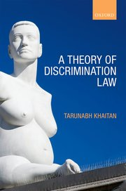 Cover for   A Theory of Discrimination Law
