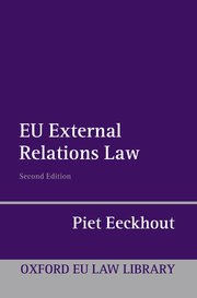 Cover for   EU External Relations Law