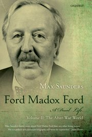 Cover for   Ford Madox Ford A Dual Life