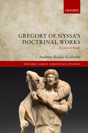 Cover for   Gregory of Nyssas Doctrinal Works