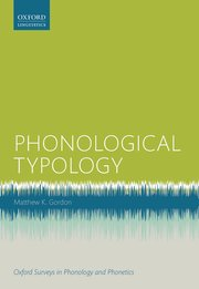 Cover for   Phonological Typology