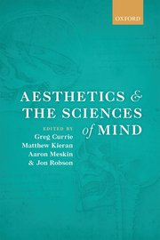 Cover for   Aesthetics and the Sciences of Mind