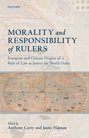 Cover for   Morality and Responsibility of Rulers