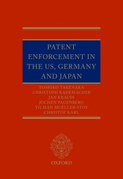 Cover for   Patent Enforcement in the US, Germany and Japan