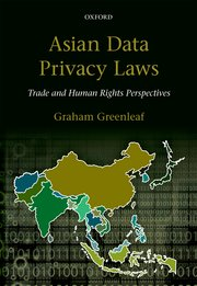 Cover for   Asian Data Privacy Laws