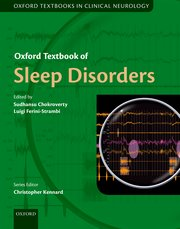 Cover for   Oxford Textbook of Sleep Disorders