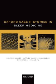 Cover for   Oxford Case Histories in Sleep Medicine