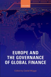 Cover for   Europe and the Governance of Global Finance