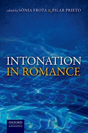 Cover for   Intonation in Romance