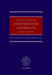 Cover for   Wilmot-Smith on Construction Contracts