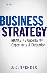 Cover for   Business Strategy