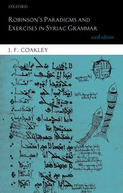 Cover for   Robinsons Paradigms and Exercises in Syriac Grammar