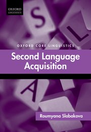 Cover for   Second Language Acquisition