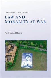Cover for   Law and Morality at War