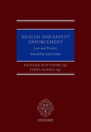 Cover for   Health and Safety Enforcement