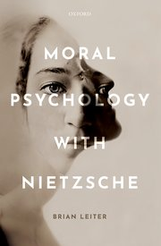 Cover for   Moral Psychology with Nietzsche