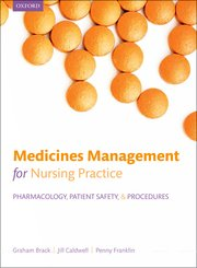 Cover for   Medicines management for nursing practice
