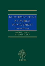 Cover for   Bank Resolution and Crisis Management