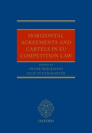 Cover for   Horizontal Agreements and Cartels in EU Competition Law