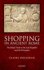 Cover for   Shopping in Ancient Rome