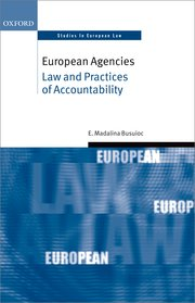 Busuoic M, European Agencies: Law and Practices of Accountability Image
