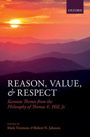 Cover for   Reason, Value, and Respect