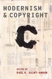 Cover for   Modernism and Copyright