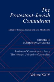 Cover for   The Protestant-Jewish Conundrum