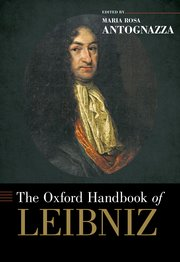 Cover for   The Oxford Handbook of Leibniz