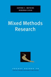 Cover for   Mixed Methods  Research