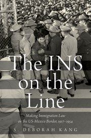 Cover for   The INS on the Line
