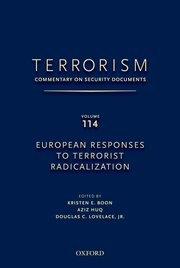 Cover for   TERRORISM: COMMENTARY ON SECURITY DOCUMENTS VOLUME 114
