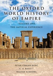 Cover for   The Oxford World History of Empire