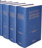 Cover for   Benezit Dictionary of Artists