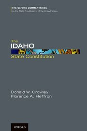 Cover for   The Idaho State Constitution