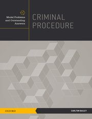 Cover for   Criminal Procedure