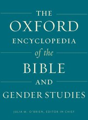 Cover for   The Oxford Encyclopedia of the Bible and Gender Studies