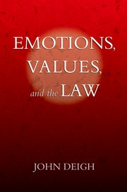 Cover for   Emotions, Values, and the Law