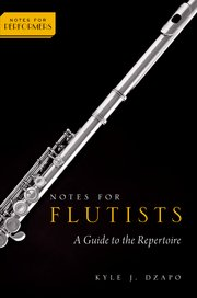 Cover for   Notes for Flutists