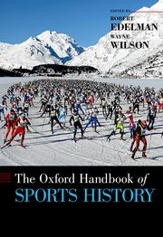 Cover for   The Oxford Handbook of Sports History