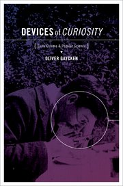 Cover for   Devices of Curiosity