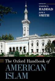 cover of oxford handbook of american islam