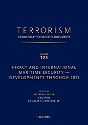 Cover for   TERRORISM: COMMENTARY ON SECURITY DOCUMENTS VOLUME 125