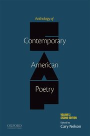 Cover for   Anthology of Contemporary American Poetry