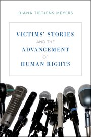 Cover for   Victims Stories and the Advancement of Human Rights